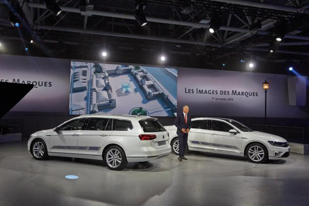 2015 PASSAT GTE plug-in hybrid at the Paris Motor Show in 2014